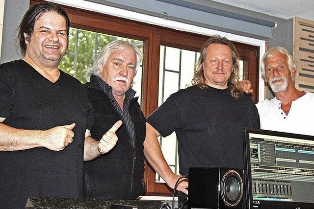 So nehmen die Knaschtbrüder aus Schopfheim ihre neue CD auf
