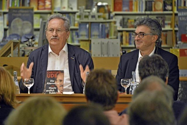 Münchens Ex-OB Christian Ude stellte sein Buch zum Politikbetrieb vor