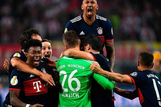 Drama im Pokal: Bayern besiegt Leipzig im Elferkrimi