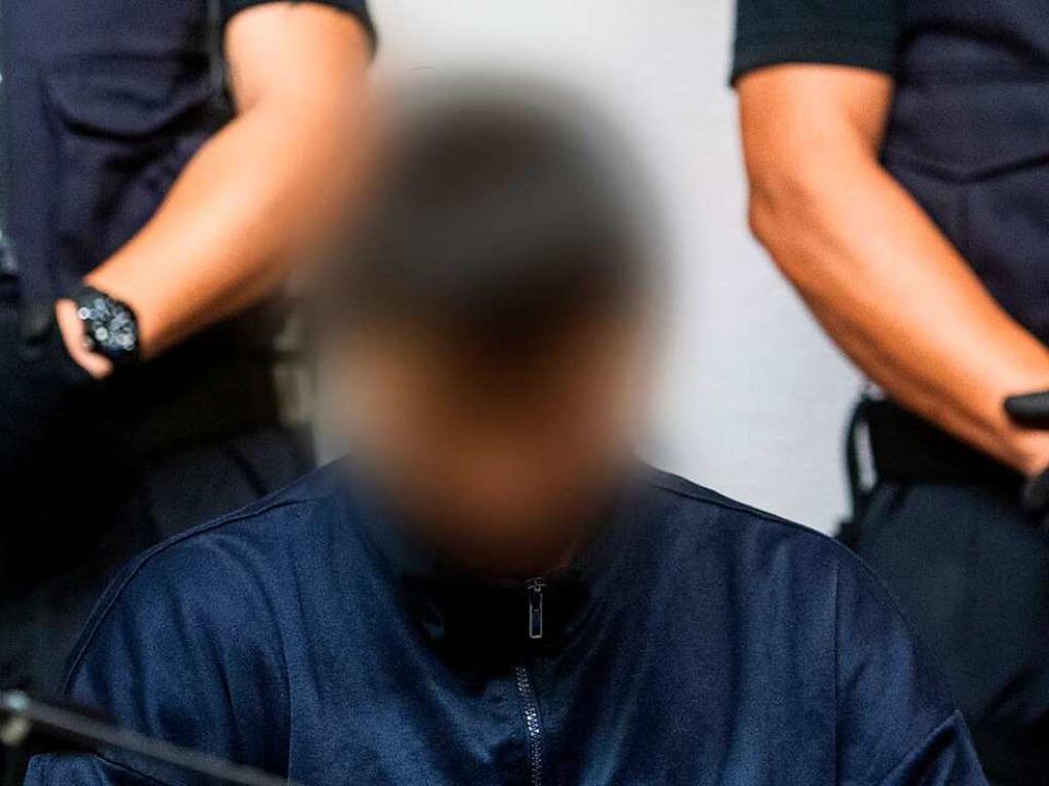 Hussein K. ist angeklagt, in Freiburg die Studentin Maria L. getötet zu haben.  | Foto: dpa