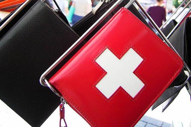 Händler im Kreis Lörrach stellen kaum einen Rückgang von Schweizer Kunden fest