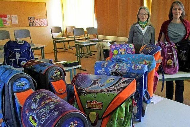 Schulsachen für Rumänien