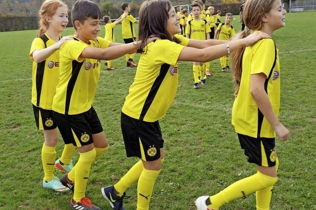 Trainieren wie echte Nachwuchs-Kicker