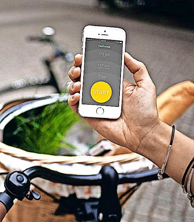 Die App zum Rad   | Foto: Poppen