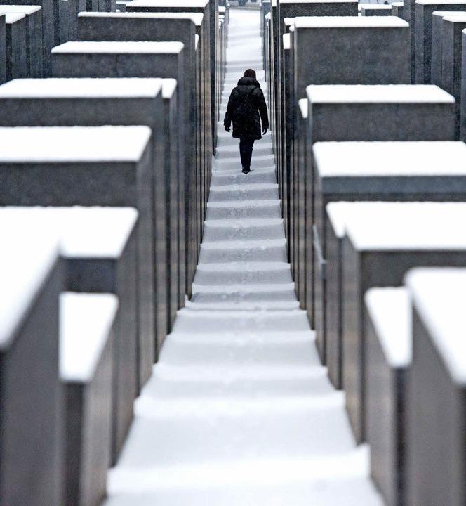 Berliner Holocaust-Mahnmal   | Foto: dpa