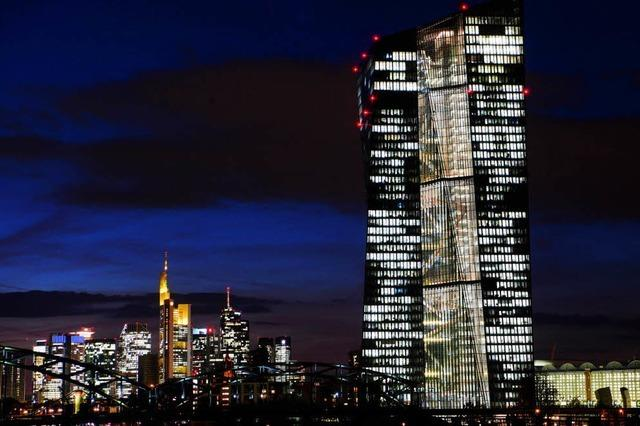 EZB drosselt Anleihekäufe - Leitzins bleibt jedoch unverändert
