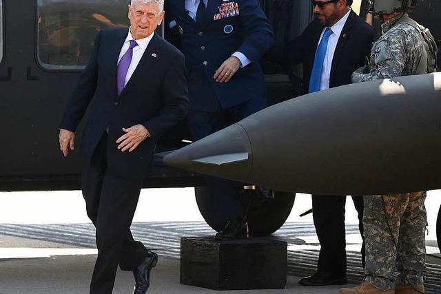 Minister Mattis: USA wollen keinen Krieg mit Nordkorea