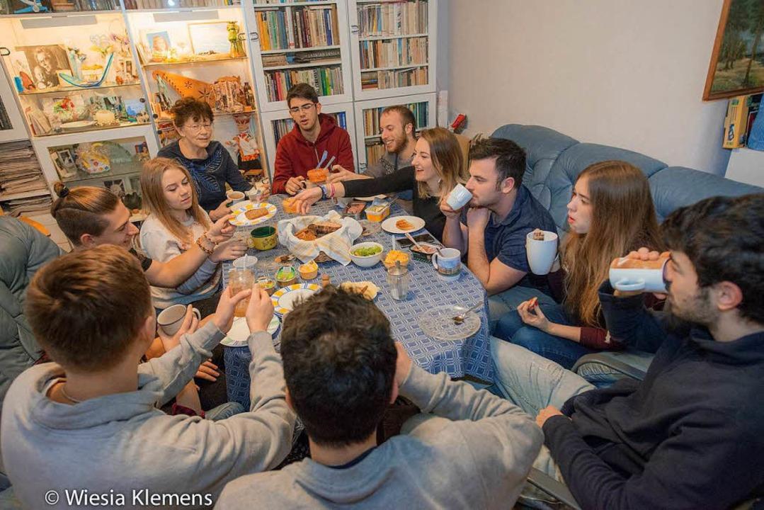 Mehr als zwei Quadratmeter zum Schlafe...stück erwarten die jungen Gäste nicht.  | Foto: Wiesia Klemens