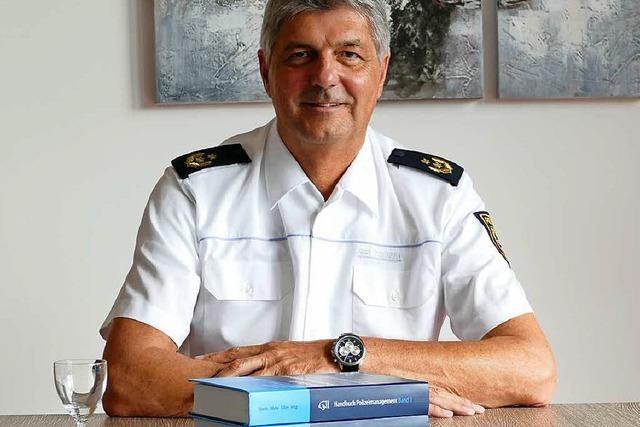 Offenburgs neuer Polizeipräsident hat keinen Personalmangel