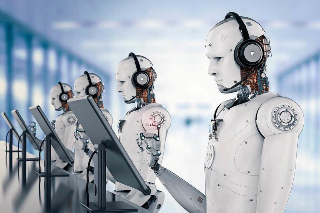 Bei einem Robocall hat man kaum eine Chance, selber zu Wort zu kommen.  | Foto: Phonlamaiphoto (Fotolia)