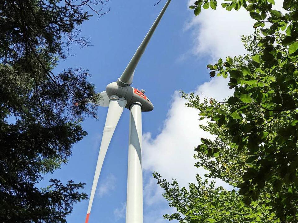 Ob, wie und wo sich  Windkraftanlagen ...t und darüber hinaus sehr umstritten.   | Foto: G. Hennicke