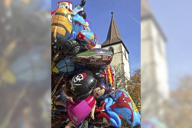 Bundtes Treiben in Müllheim