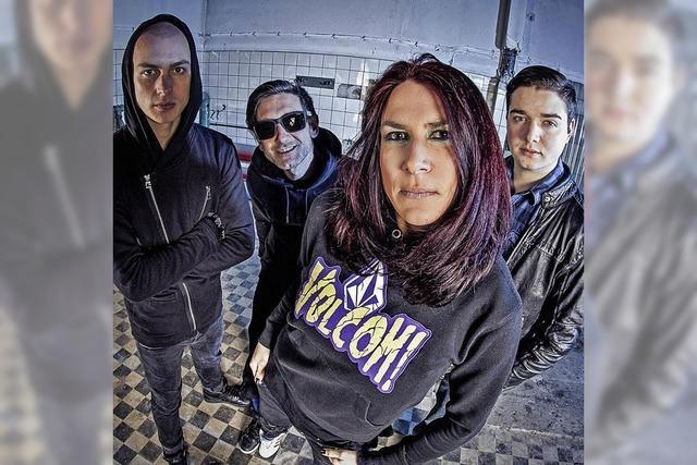 Blindfall bringt Alternative Rock und Crossover in den Lahrer Schlachthof