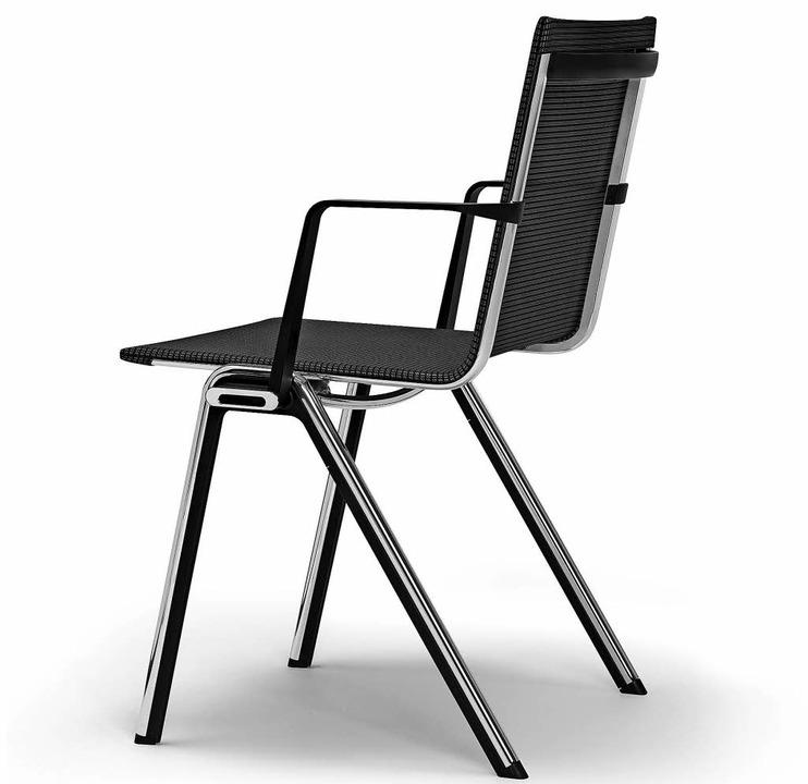 """Der """"BLAQ chair""""     Foto: Privat"""