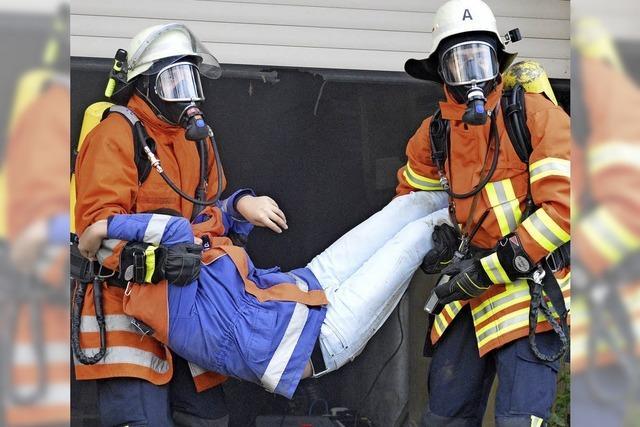 Hogschürer Feuerwehr bewährt sich