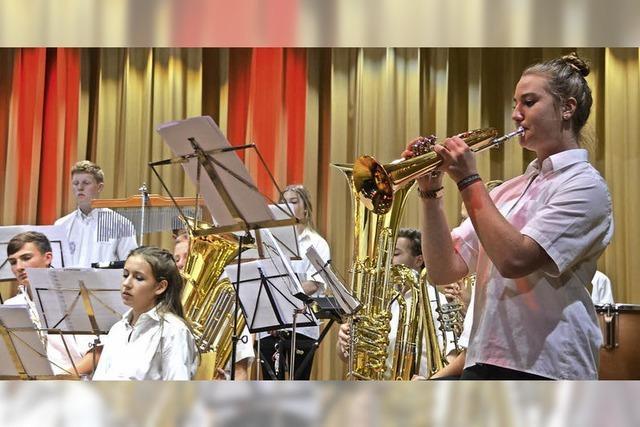 Jungmusiker zeigen ihr Können