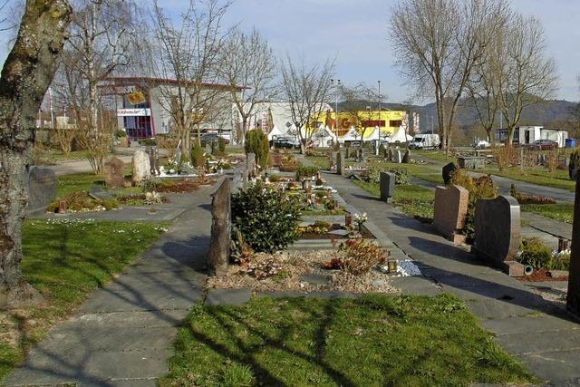 Friedhof wird umgestaltet