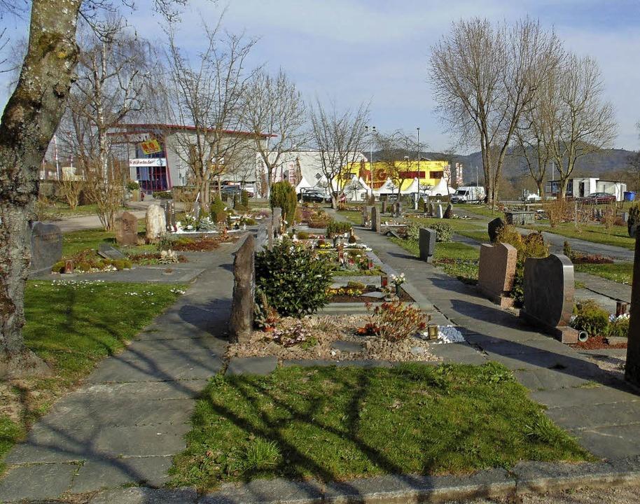 Der Murger Friedhof wird in Teilen saniert und neu gestaltet.    Foto: Michael Gottstein