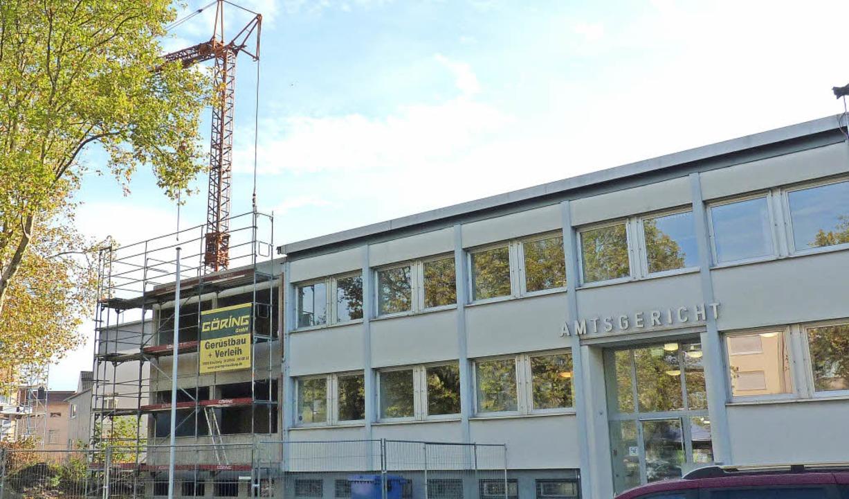 Das Amtsgericht Bad Säckingen erhält mehr Platz.     Foto: Hilde Butz