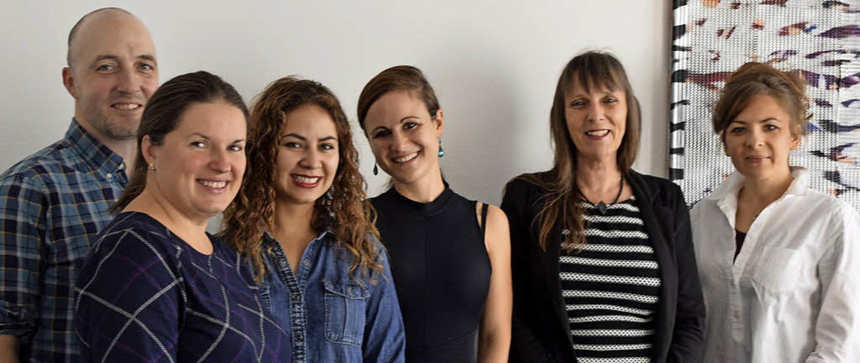 Das Team der Sprachschule Invox   | Foto: Heidemarie Wussler