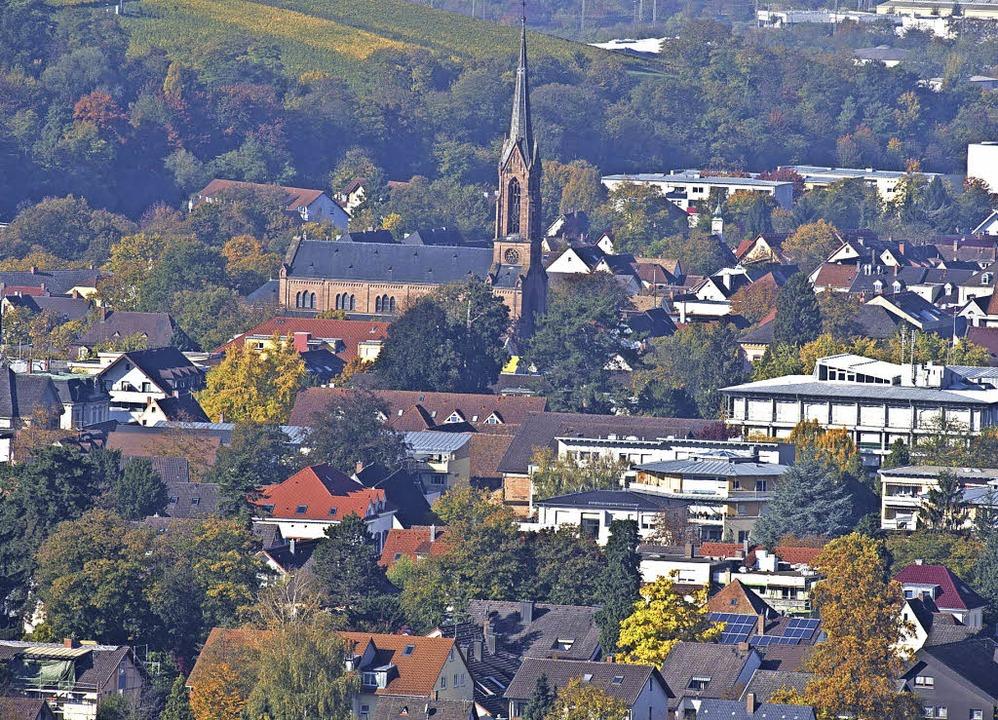 Für die Zukunft der Stadt Müllheim hat... kürzlich ein Leitbild verabschiedet.   | Foto: Volker Münch