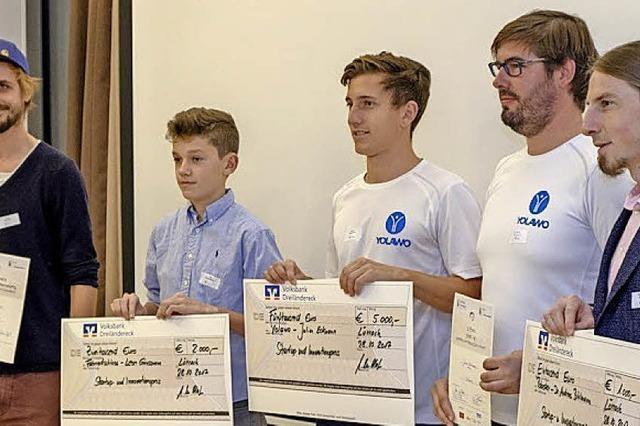 Preis für Gründer und Erfinder