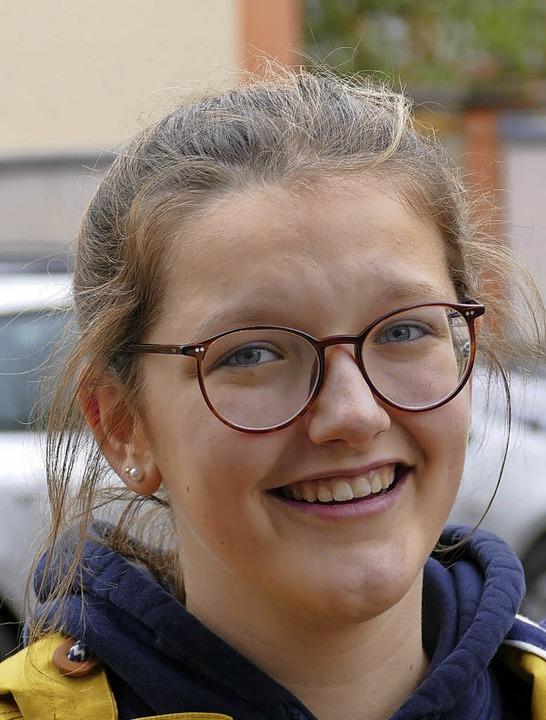 <BZ-Keyword>Charlotte Schmidt (15):</B...geln, gebe ich ihnen sehr gerne etwas.  | Foto: Pascal Schöpflin