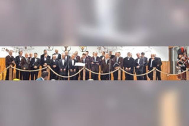 Großes Sängerfest zum 140. Chorgeburtstag
