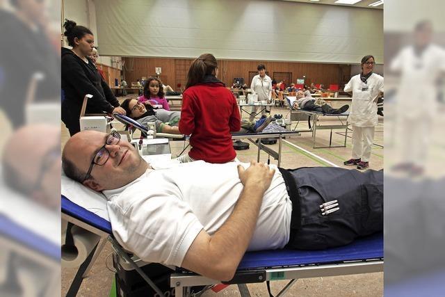 222 Blutspender kommen nach Wyhlen