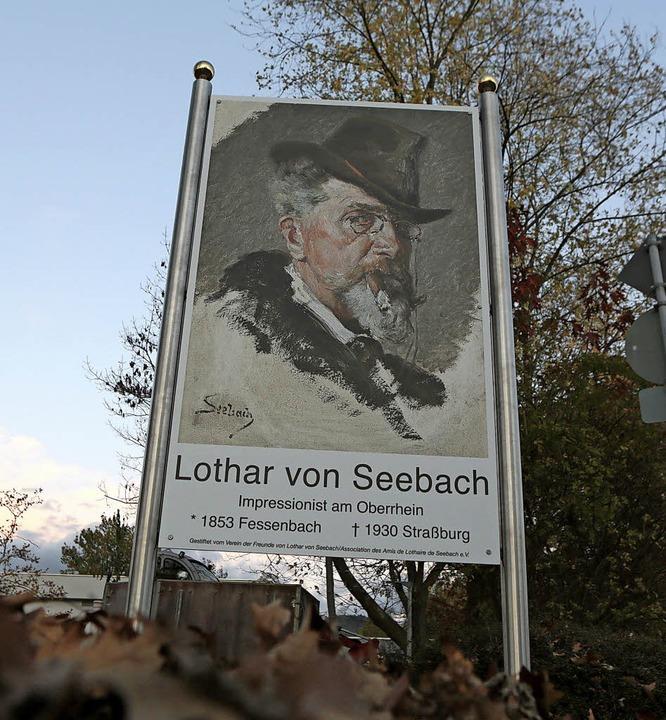 Sein Geburtsort Fessenbach ehrt Lothar...Werkstattinterieurs  anfangen konnte.     Foto: Christoph Breithaupt