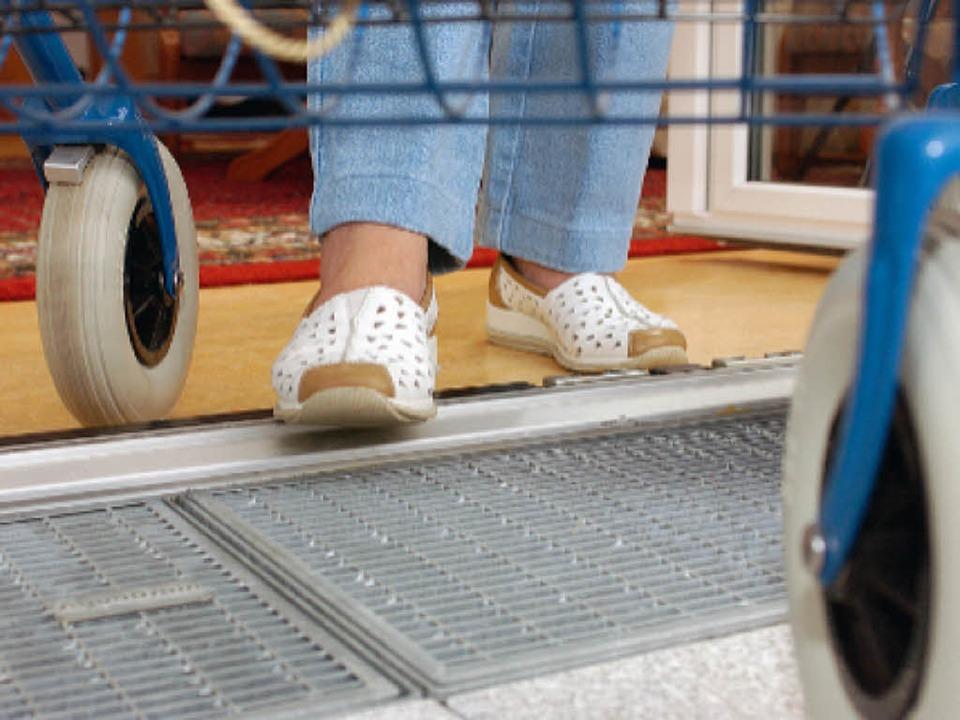 Zwei Zentimeter sind nicht viel &#8211... aber ein großes Hindernis darstellen.    Foto: ZVG