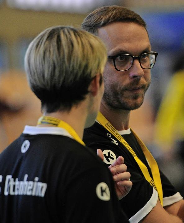 Ratlos: Trainer Tobias Buchholz  | Foto: Pressebüro Schaller