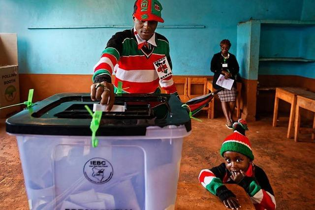 Neuwahl in Kenia ist praktisch wertlos