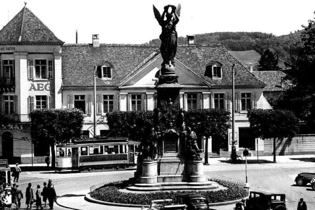Freiburger Siegesdenkmal kehrt nach über 50 Jahren an alten Standort zurück