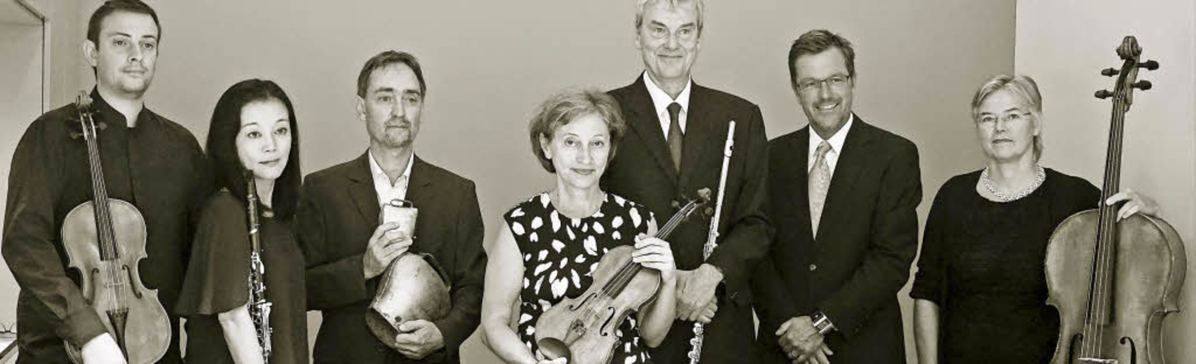 Als Interpreten Neuer Musik internatio...tzt: das Freiburger ensemble recherche  | Foto: Pro
