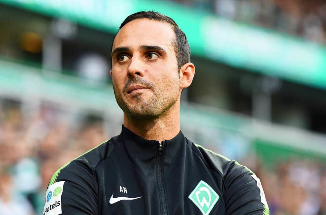 Wurde vom SV Werder Bremen freigestellt: Alexander Nouri.    Foto: dpa
