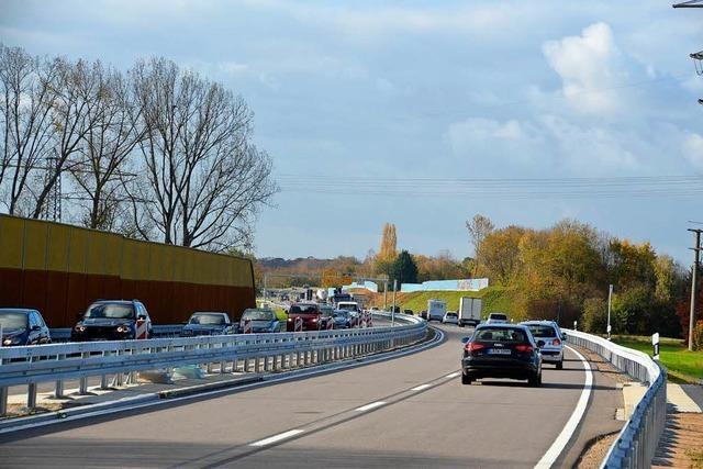 Freie Fahrt von der B 3 bei Offenburg bis Gengenbach-Nord
