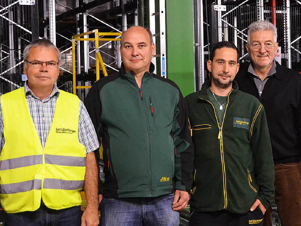 Richard Mattola, Dirk Mitter, Joachim Sonner, Karlhubert Dischinger  | Foto: Sebastian Krüger