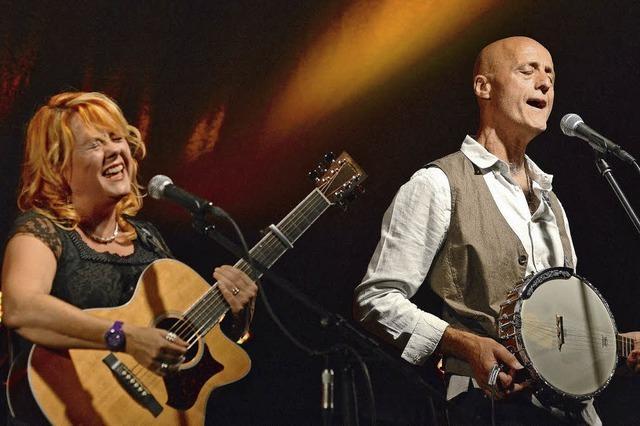 Kip Winter und Dave Wilson geben Konzert im Café Verkehrt in Murg-Oberhof