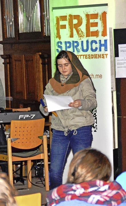 Zahlreiche Konfirmanden feierten einen...llen Jugendgottesdienst in Schopfheim.  | Foto: Edgar Steinfelder