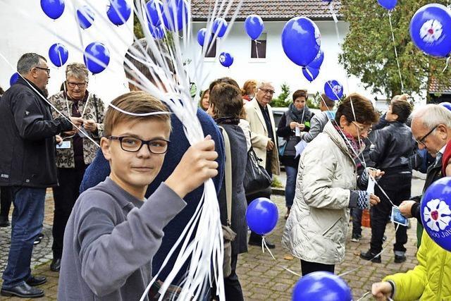 Luftballons zum Luther-Jubiläum