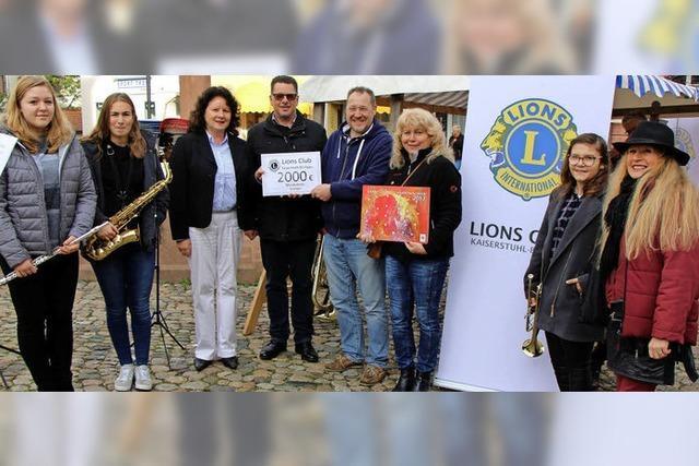 2000 Euro für Instrumente