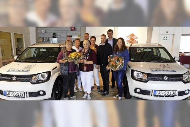 Sozialstation bei Fahrzeugkauf unterstützt