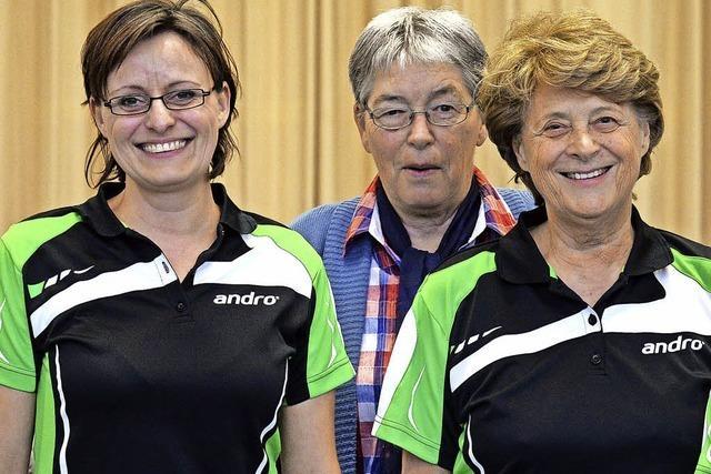 Die Frauen des TTF Stühlingen gewinnen zweimal
