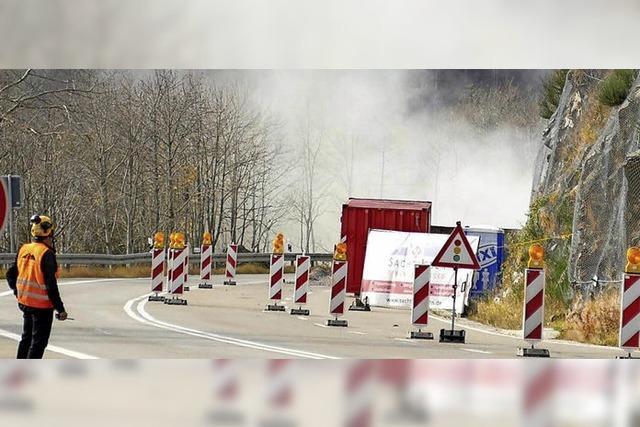 Straße auf den Feldberg ab Donnerstag gesperrt