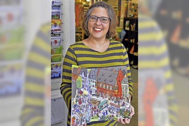 Grafikdesignerin illustriert Freiburgs erstes Wimmelbuch