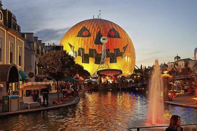 Große Halloweenparty im Europa-Park