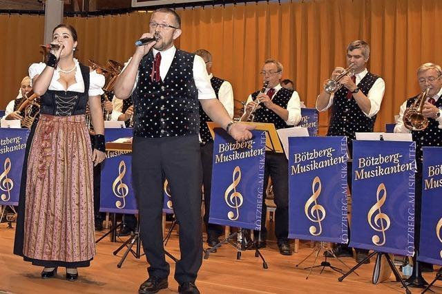 Böhmisch-mährische Blasmusik im Kursaal