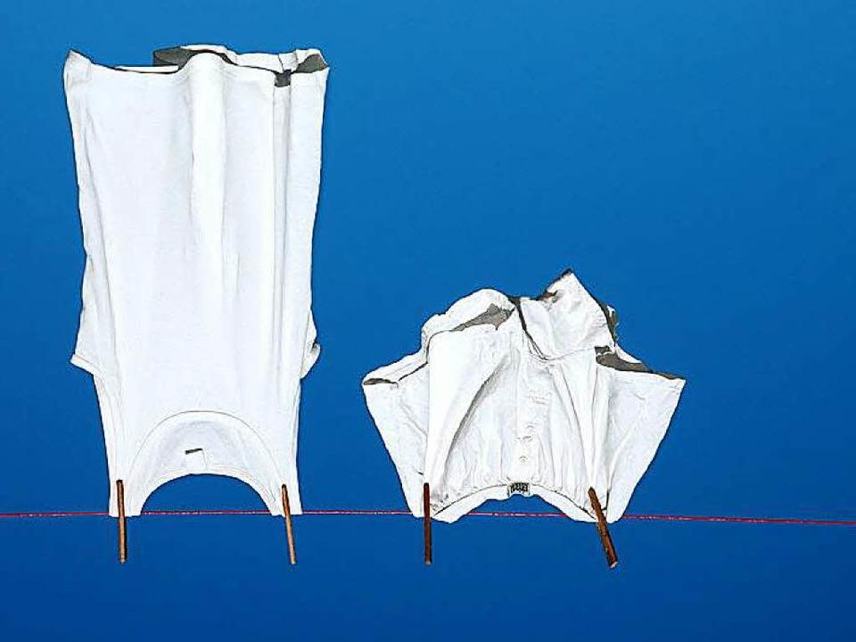Am schnellsten trocknet Wäsche draußen im Sommer an der frischen Luft.  | Foto: Steinkopie / fotolia.com