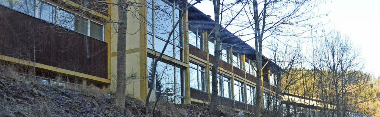 Die bisherige Fassadenstruktur wäre mi...zschindeldämmung nicht mehr zu sehen.     Foto: Sebastian Barthmes